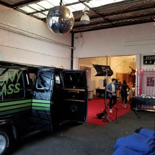Disco Ball in the PR0HBTD Studio