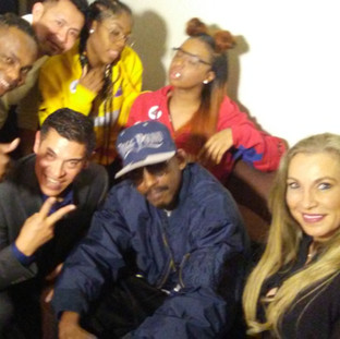 With Kurupt & Cheryl Shuman
