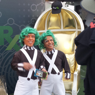 oompa loompa's, not sure why, but oompa loompa