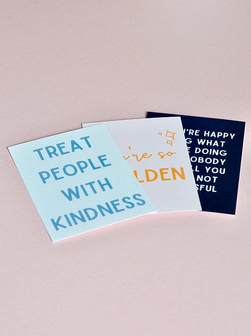 You're So Golden | Print Set (A6)