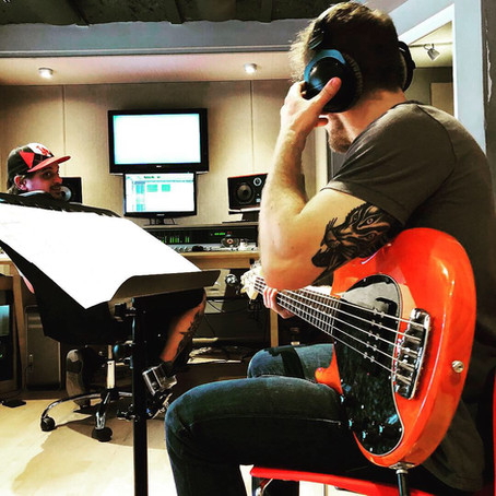 Martin Sokol on Bass