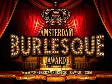 The 3rd Annual Amsterdam Burlesque Award!!