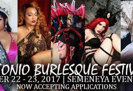 HEADDING AT San Antonio BURLESQUE FESTIVAL ON 22-23, SEPTEMBER 🍑🍑