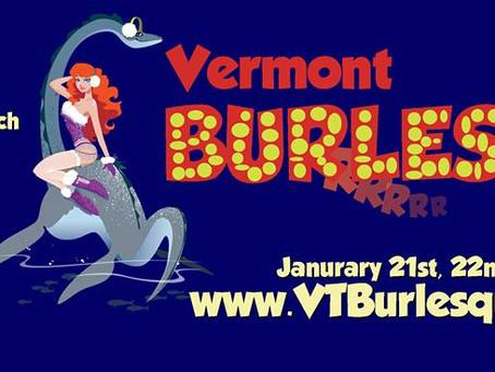 Vermont Burlesque Festival 2016!!!