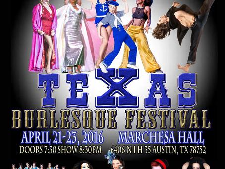 Texas Burlesque Festival !