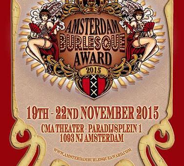 Amsterdam Burlesque Award 2015