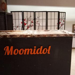 Reception Moomidol Hostel