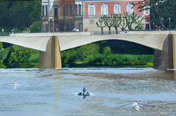 Saturday on the Arno River