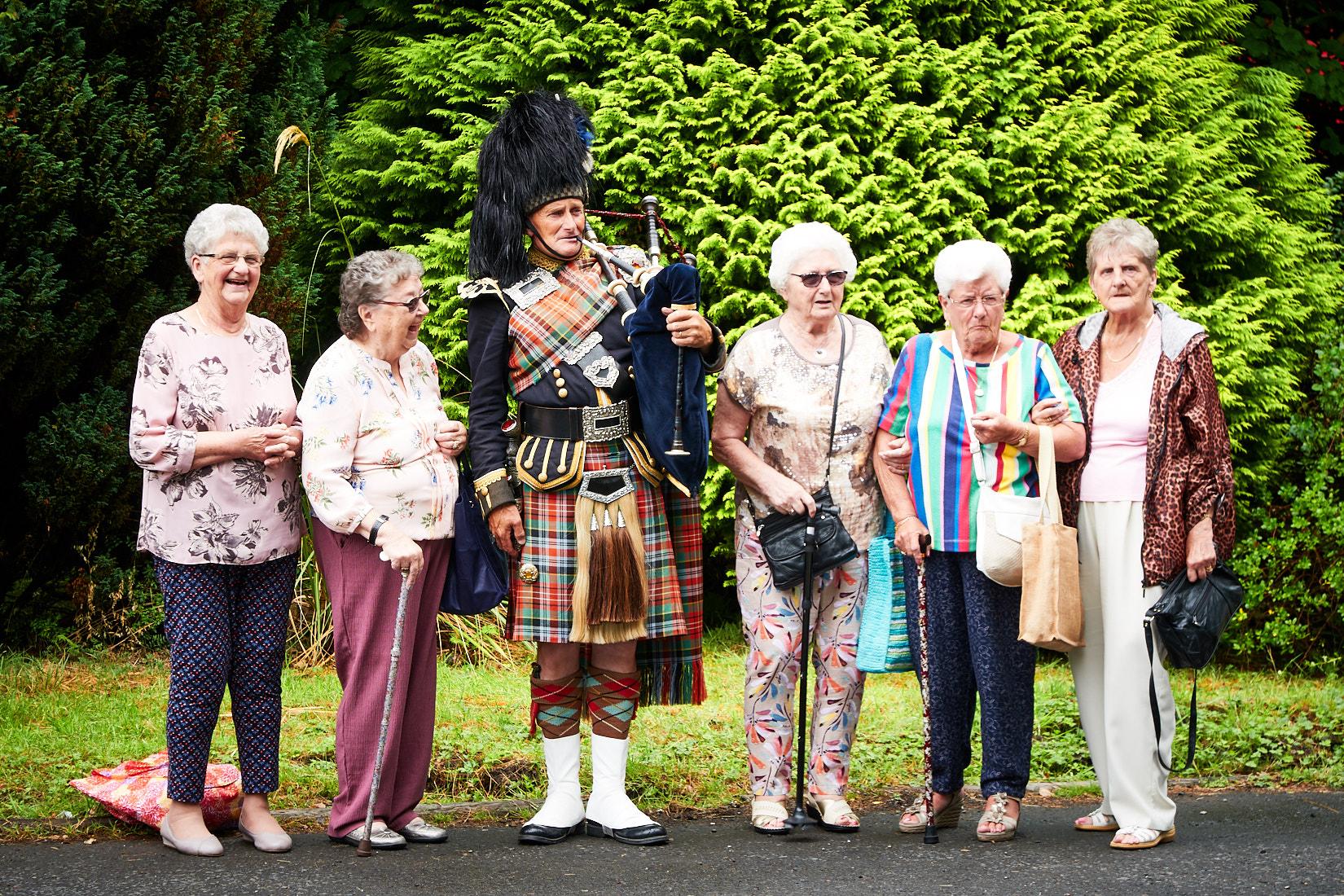Empfangskomitee | Schottland