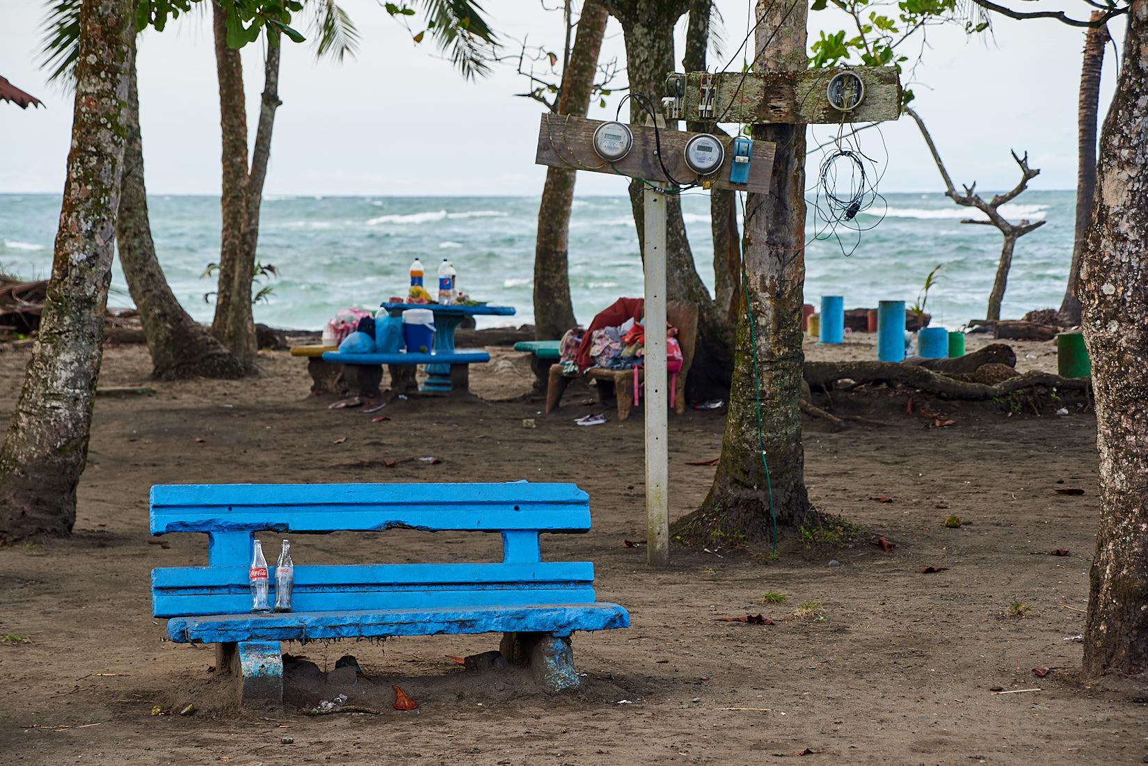 Parkbank mit Aussicht | Costa Rica