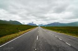 The road to ...   Schottland