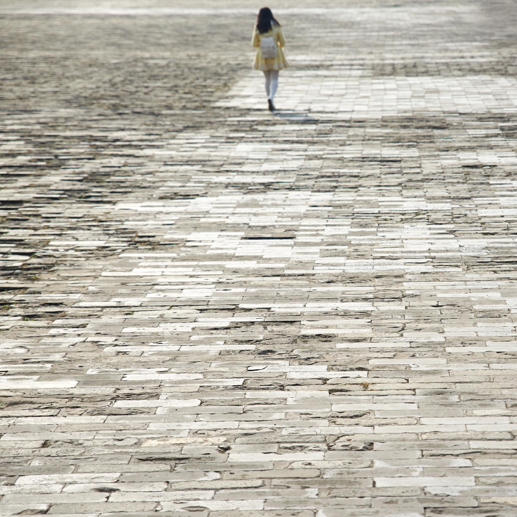 Allein | Verbotene Stadt Peking