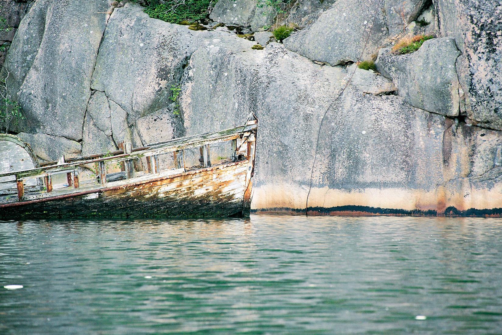 Geisterschiff | Westküste Schweden