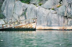 Geisterschiff   Westküste Schweden