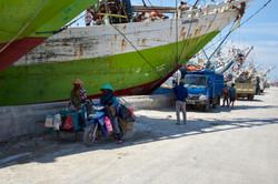 Hafenkiosk |  Jakarta | Indonesien