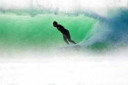 Perfekte Welle   Südafrika