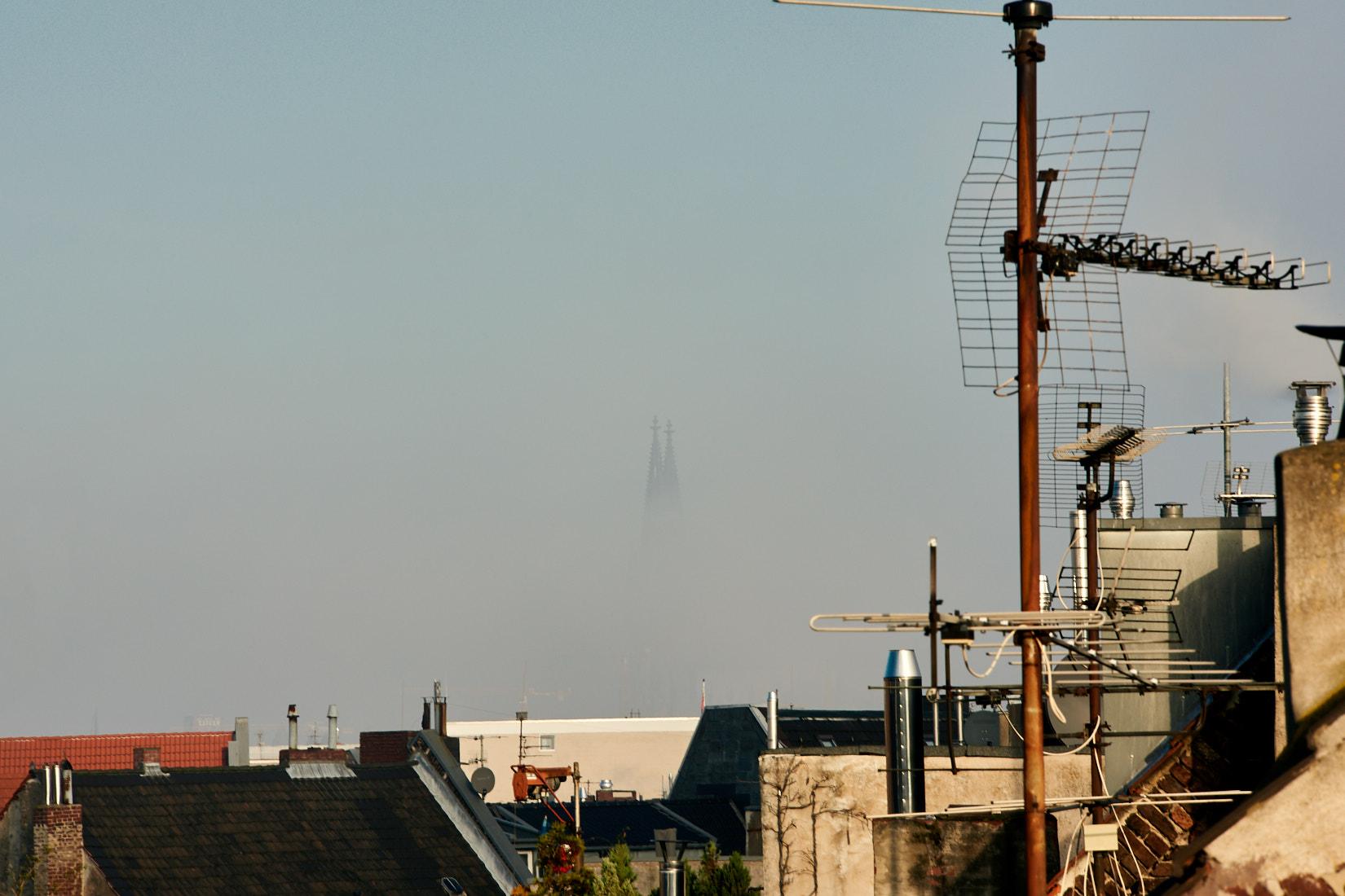 Domspitzen im Nebel | Köln