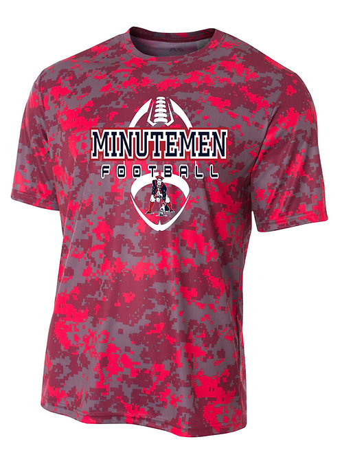 Washington TWP Minutemen Football Camo Performance T-Shirt