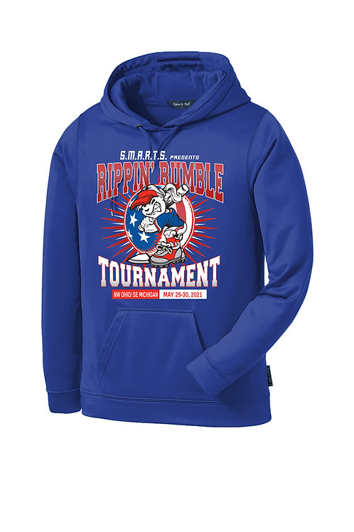 Rippin' Rumble Softball Dri-Fit Hoodie