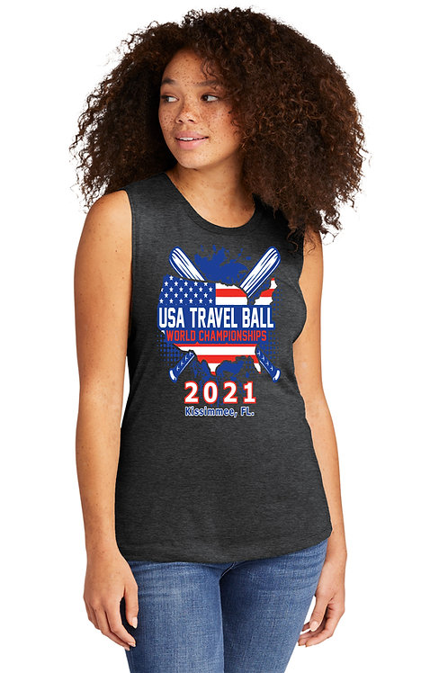 USA Travel Ball World Championships Women's Sleeveless Shirt