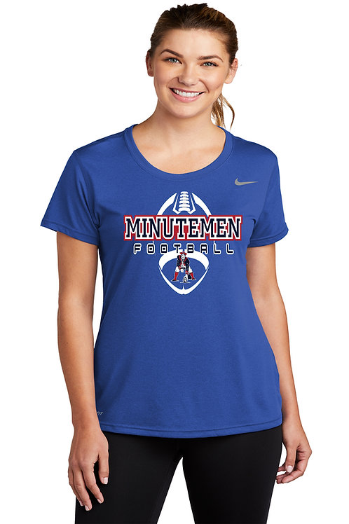 Washington TWP Minutemen Football Nike Ladies Legends T