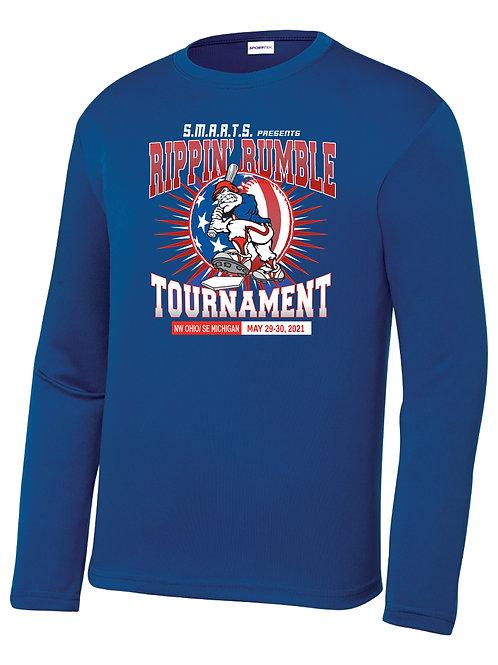 Rippin' Rumble Baseball Dri-Fit Long Sleeve T-shirt