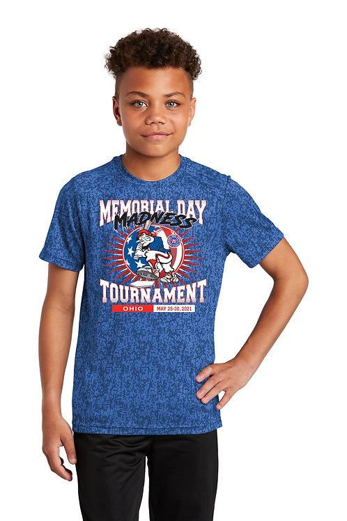Memorial Day Madness Digital Camo T-Shirt