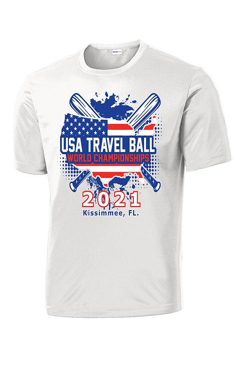 USA Travel Ball World Championships Dri-Fit T-shirt