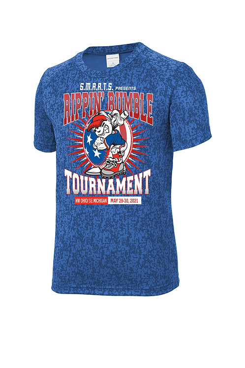 Rippin' Rumble Softball Digi Camo T-shirt