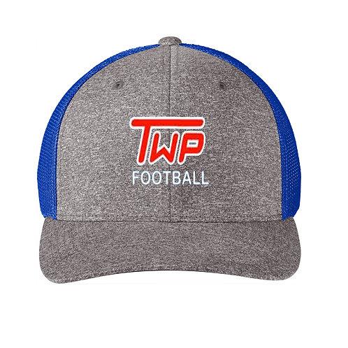 Washington TWP Minutemen Football Embroidered Mesh back Trucker Hat
