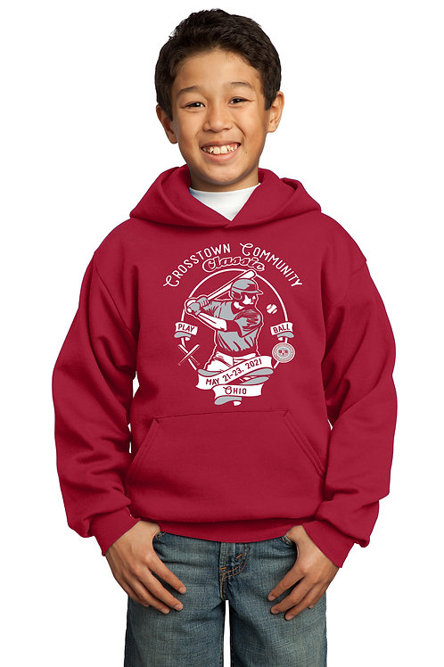 Crosstown Community Classic Kid's cotton/polyester blend Hoodie
