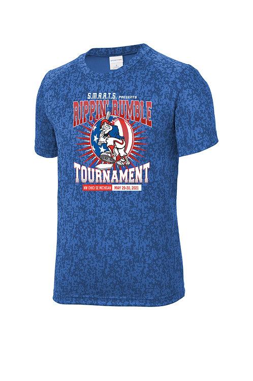 Rippin' Rumble Baseball Digi Camo T-shirt