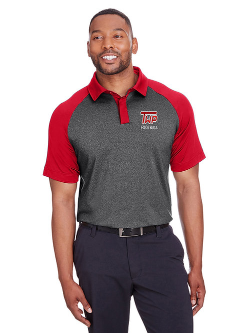 Washington TWP Football Men's Spyder Embroidered Golf Shirt
