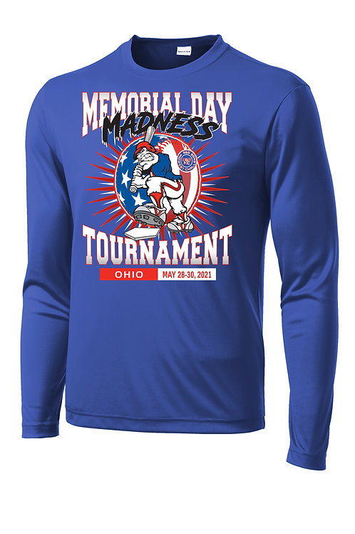 Memorial Day Madness DRI-Fit Long Sleeve T-shirt