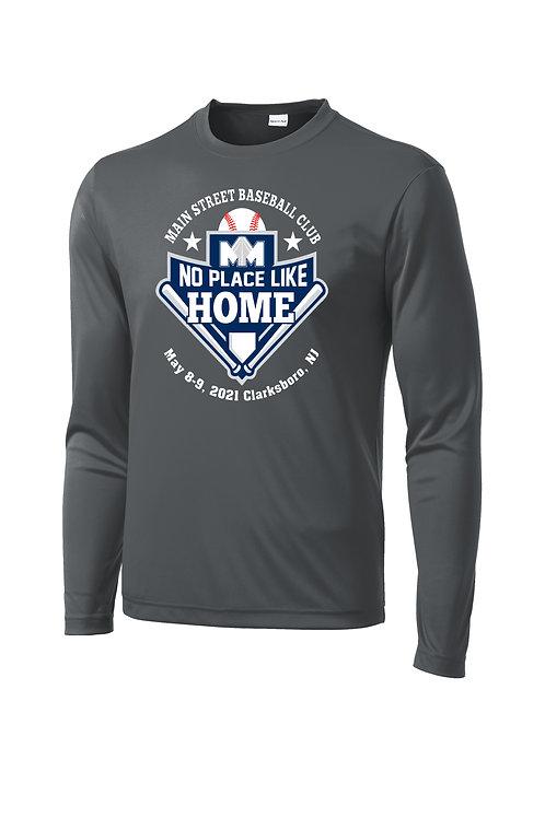 No Place Like Home Dri-Fit Long Sleeve T-Shirt