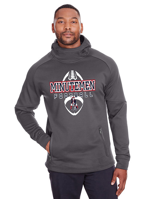 Washington TWP Minutemen Football Mens Spyder Hooded Sweatshirt