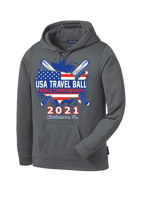 USA Travel Ball World Championships Dri-FIT Hoodie