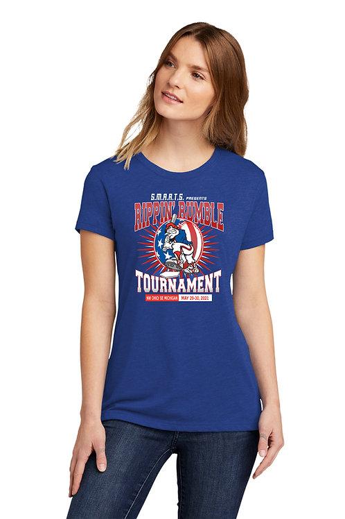 Rippin' Rumble Baseball Women's T-Shirt