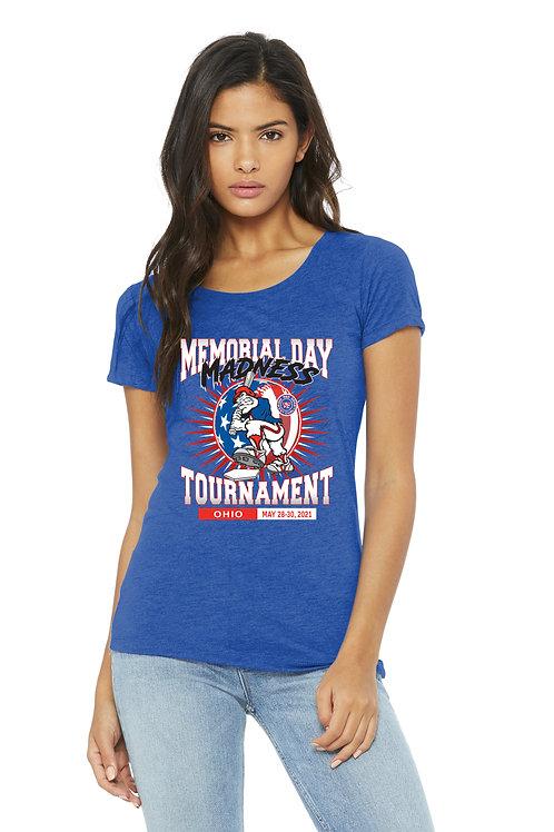 Memorial Day Madness Women's Triblend Short Sleeve T-shirt