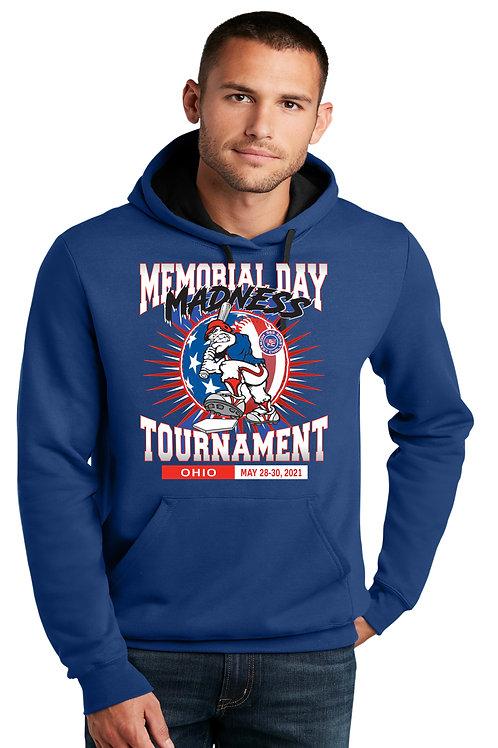 Memorial Day Madness Fleece Hooded Sweatshirt