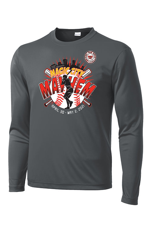 Magic City Mayhem Long Sleeve Dr-FIT T-shirt