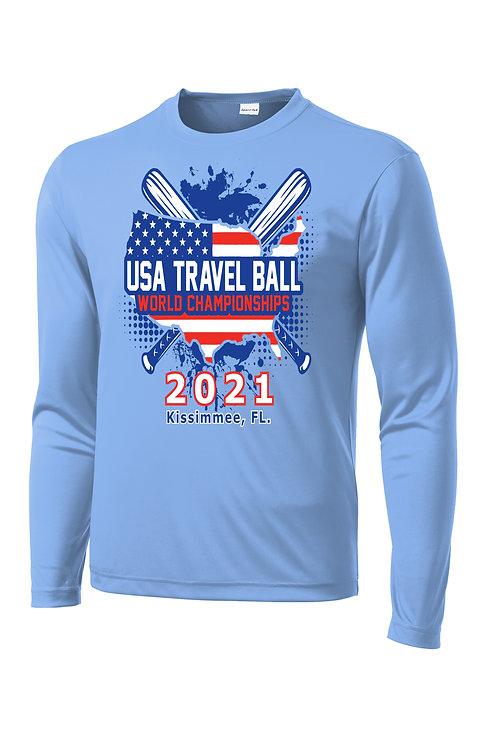 USA Travel Ball World Championships Dri-FIT Long Sleeve T-shirt