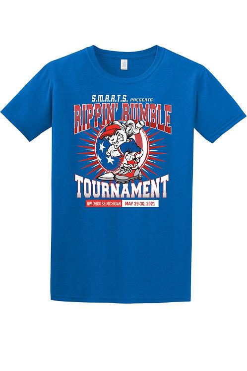 Rippin' Rumble Softball Soft Cotton T-Shirt