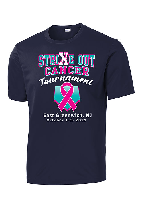 Strike Out Cancer Dri-Fit T-Shirt