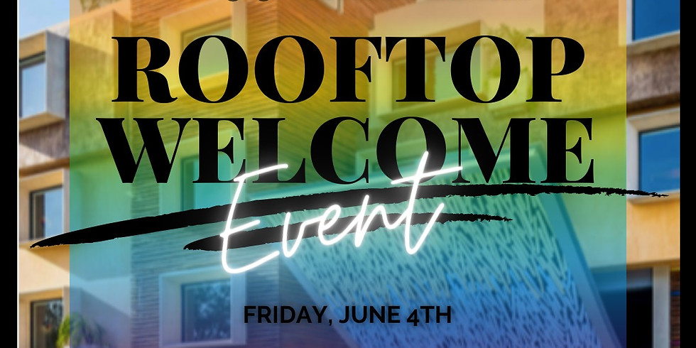 Welcome Rooftop Pool Party