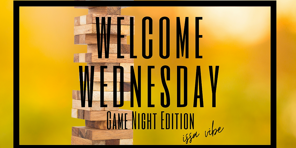 Welcome Wednesday