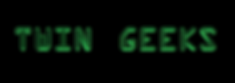 Twin Geeks blog logo