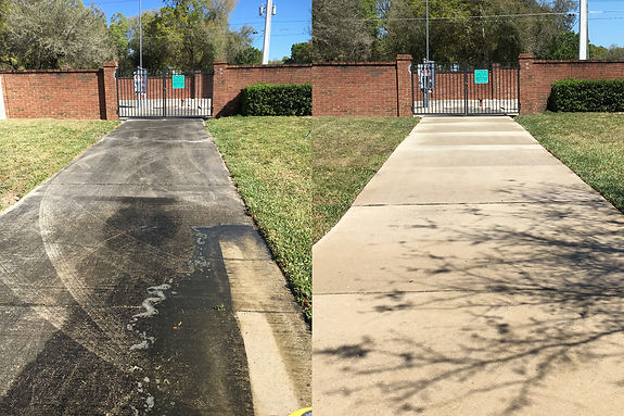Driveway Cleaning Pressure Washing Orlando 407.452.9397