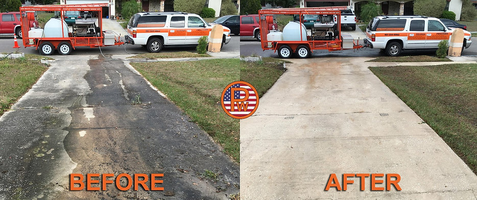 Driveway Cleaning Winter Springs 32708 Florida