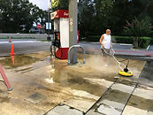 Gas Station Cleaning Pressure Wash Orlando, Central Florida 407 .452.9397